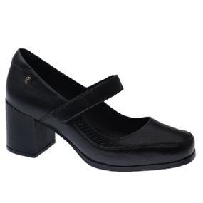 Sapato-Feminino-em-Couro-Roma-Preto-Serpente-Preto-1373-Doctor-Shoes-Preto-38