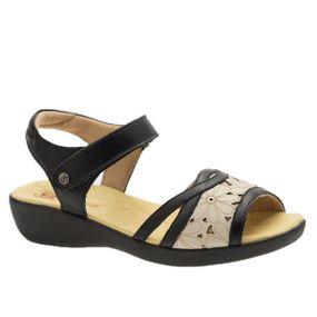 Sandalia-Anabela-em-Couro-Roma-Preto-Off-White-106-Doctor-Shoes-Preto-37