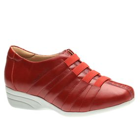 Sapato-Feminino-Anabela-em-Couro-Vermelho-Croco-Vermelho-3150-Doctor-Shoes-Vermelho-38