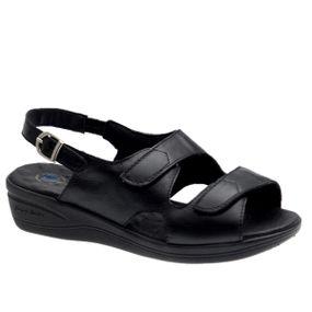 Sandalia-Feminina-Anabela-7999-em-Couro-Preto-Doctor-Shoes-Preto-34