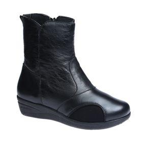 Bota-Feminina-Joanete-em-Couro-Roma-Preto--Techprene-Preto-210--Doctor-Shoes-Preto-36