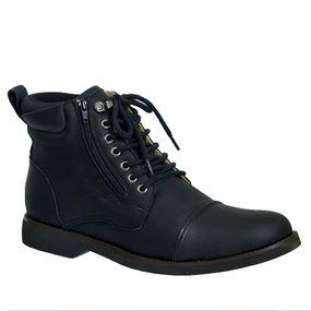 Coturno-Masculino-Gel-Anatomico-em-Couro-Preto-Graxo-8616-Doctor-Shoes-Preto-38