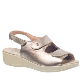 Sandalia-Anabela-Feminina-Joanete-em-Couro-Metalizado-Prata-Velho-Techprene-Bege--7995--Doctor-Shoes-Prata-37