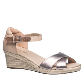 Sandalia-Feminina-Anabela-em-Couro-Metalic-Porcelana-662--Doctor-Shoes-Bronze-39