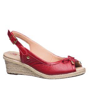 Sandalia-Feminina-Anabela-em-Couro-Carmim-660-Doctor-Shoes-Vermelho-34