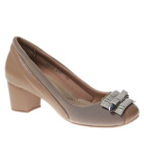 Sapato-Feminino-Joanete-em-Couro-Amendoa-Techprene-Bege-Off-White-277--Doctor-Shoes-Caramelo-37