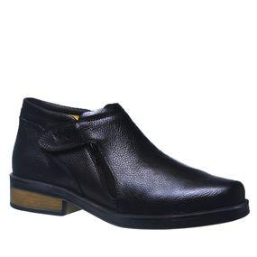 Botina--Masculina--Urbana-Gel-Anatomico-em-Couro-Preto-Floater-8825--Doctor-Shoes-Preto-40