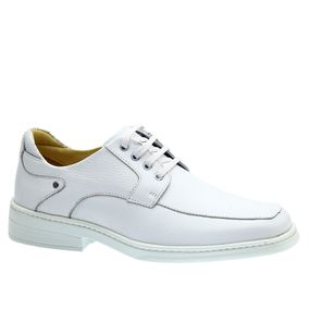 Sapato-Masculino-em-Couro-Floater-Branco-911-Doctor-Shoes-Branco-37