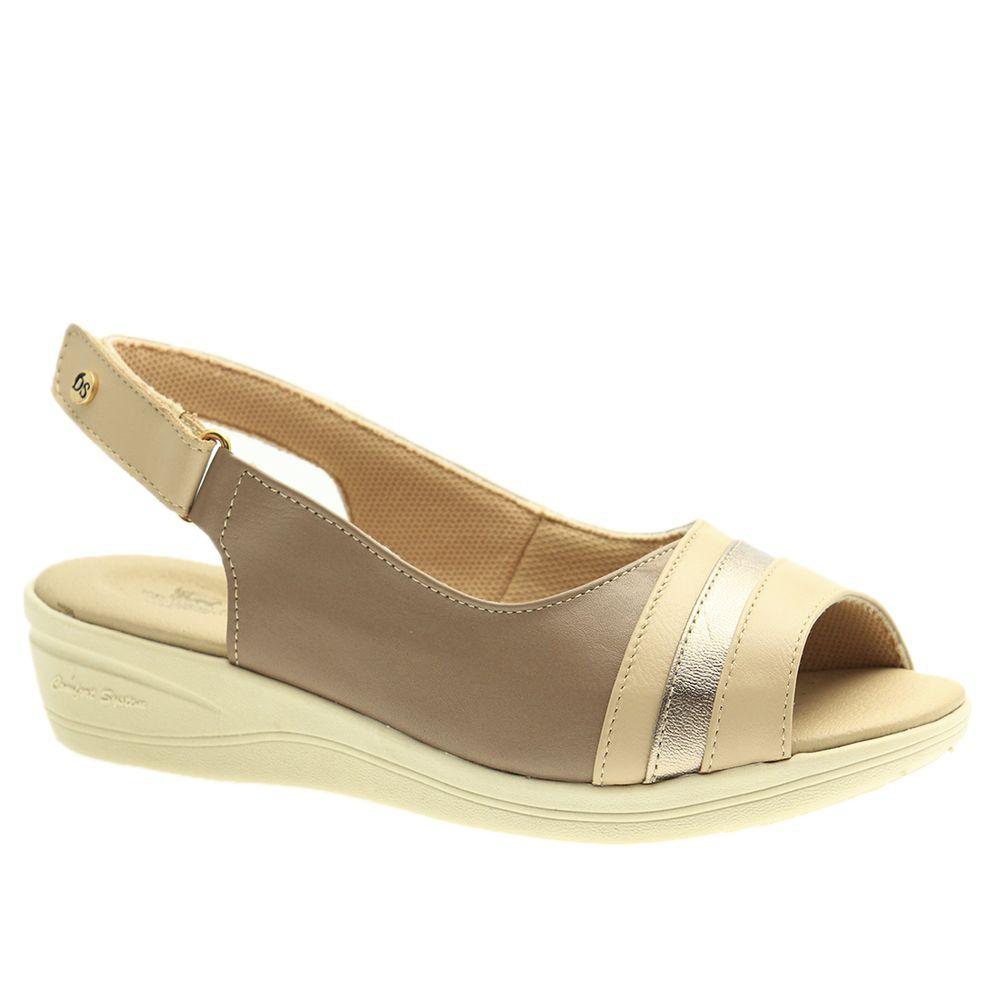 Sandalia-Feminina-Esporao-em-Couro-Roma-Ostra-Metalic-e-Roma-Fendi-7802--Doctor-Shoes-Bege-35