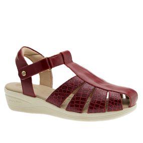 Sandalia-Feminina-Esporao-em-Couro-Vermelho-Croco-Vermelho-7803-Doctor-Shoes-Vermelho-39