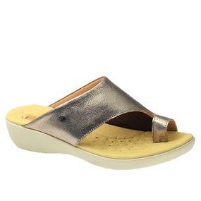 Tamanco-Anatomico-Feminino-em-Couro-Metalic-Techprene-Bege-108-Doctor-Shoes-Bronze-38