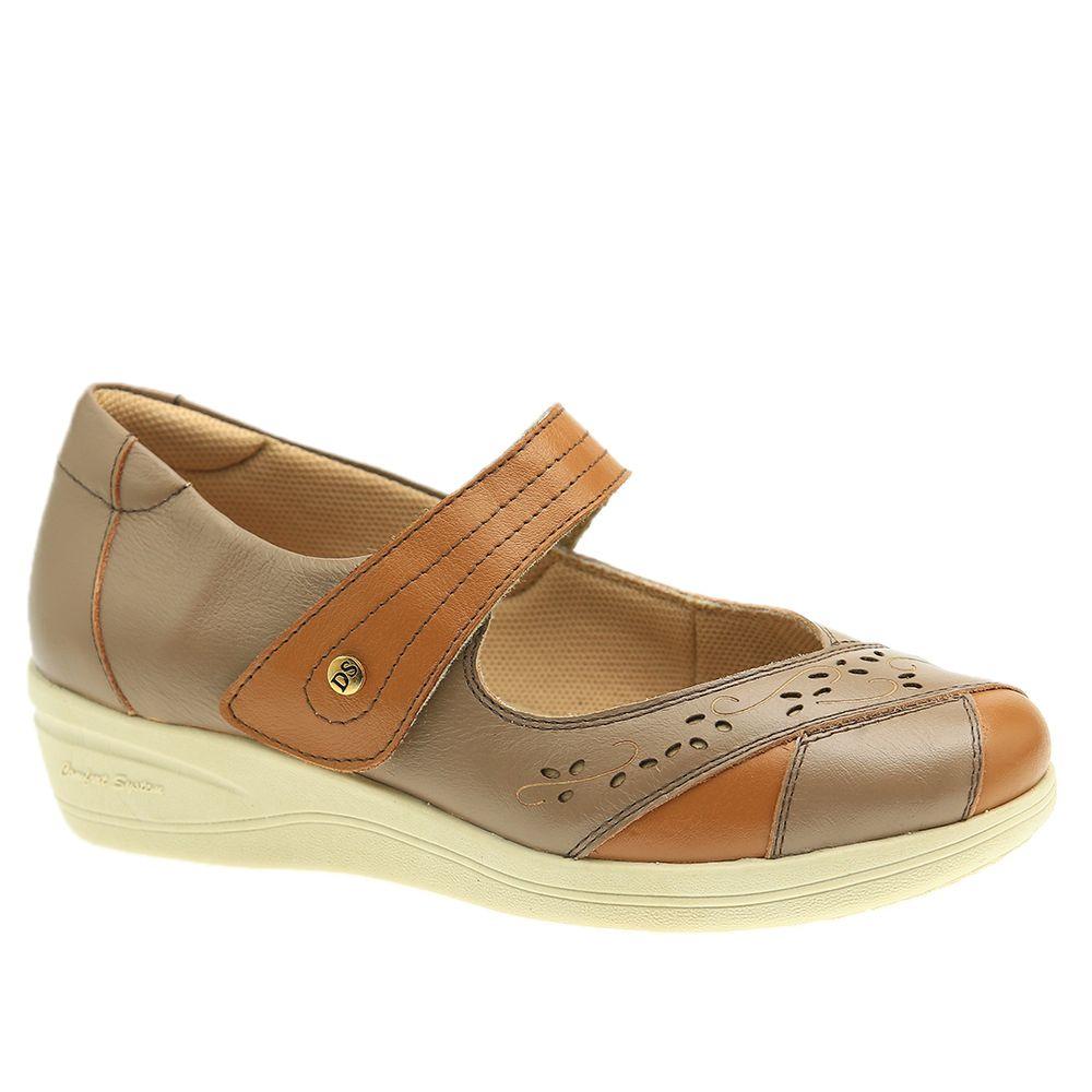 Sapato-Feminino-Diabetico-em-Couro-Roma-Ambar-Roma-Fendi-7877-Doctor-Shoes-Bege-34