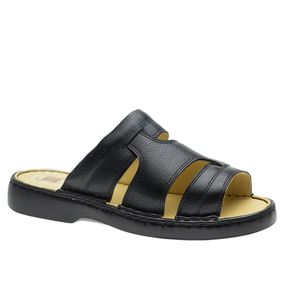 Chinelo-Masculino-em-Couro-Floater-Preto-332--Doctor-Shoes-Preto-37