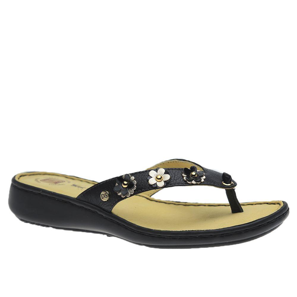 Chinelo-Feminino-em-Couro-Preto-verniz-Preto-Glace-359B-Doctor-Shoes-Preto-34