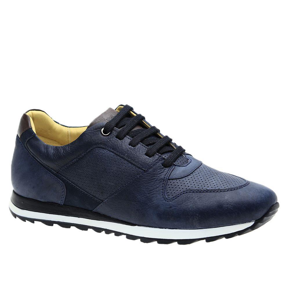 Sapatenis-Masculino-em-Couro-Graxo-Marinho-4062-Doctor-Shoes-Marinho-37