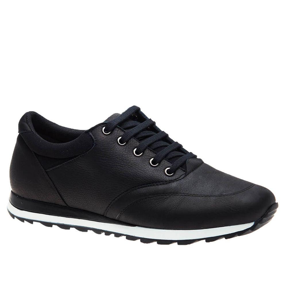Sapatenis-Masculino-em-Couro-Graxo-Preto-4060-Doctor-Shoes-Preto-37
