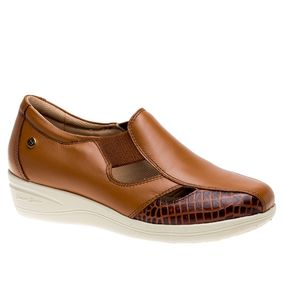 Sapato-Feminino-Diabetico-em-Couro-Roma-Whisky-Croco-Whisky-7800-Doctor-Shoes-Marrom-35