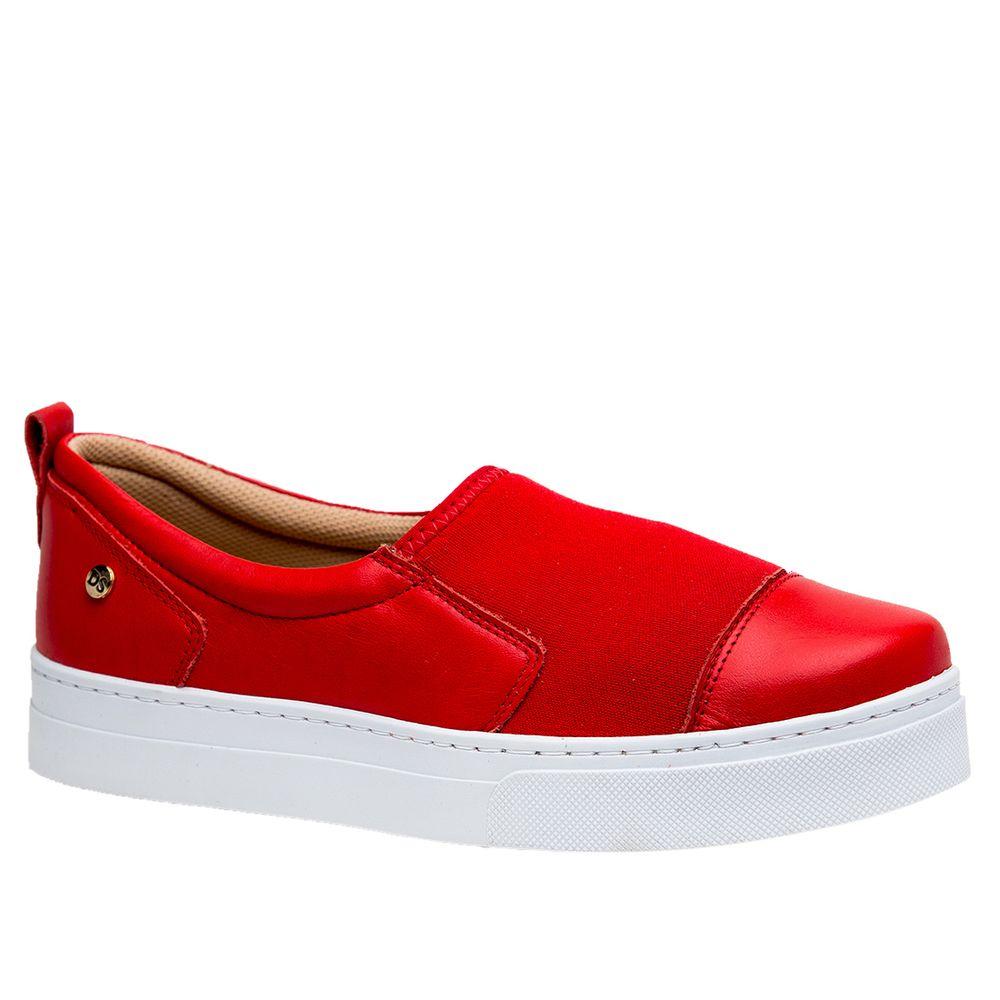 Tenis-Feminino-Slip-On-em-Couro-Roma-Tomate-Techprene-Vermelho-1468-Doctor-Shoes-Vermelho-34