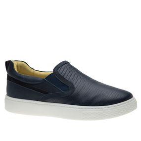Tenis-Masculino-Slip-On-em-Couro-Graxo-Marinho-Nobuck-Marinho-2191-Doctor-Shoes-Marinho-38