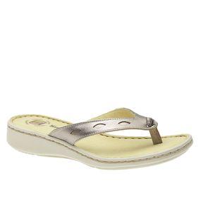 Chinelo-Feminino-em-Couro-Roma-Metalic-226B--Doctor-Shoes-Bronze-34