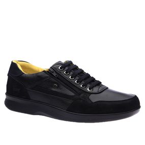 Sapato-Masculino-Esporao-em-Couro-Nobuck-Preto--Floater-Preto--Liso-3063--Doctor-Shoes-Preto-39