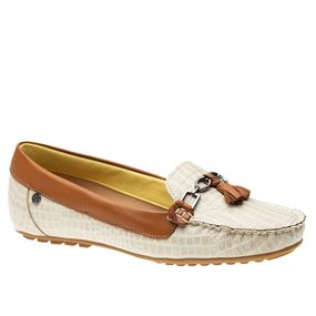 Mocassim-Feminino-em-Couro-Croco-Off-White-Roma-Argila-1187-Doctor-Shoes-Bege-38