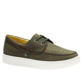 Tenis-Masculino-em-Couro-Graxo-Grafite-2195-Doctor-Shoes-Verde-37
