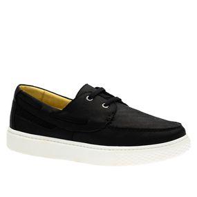 Tenis-Masculino-em-Couro-Graxo-Preto-2195-Doctor-Shoes-Preto-37