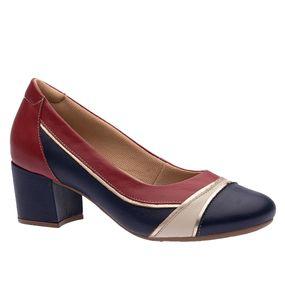 Sapato-Feminino-em-Couro-Roma-Petroleo-Neve-Framboesa-289-Doctor-Shoes-Azul-Marinho-36