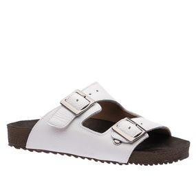 Sandalia-Feminina-Birks-em-Couro-Floater-Branco-214-Doctor-Shoes-Branco-35