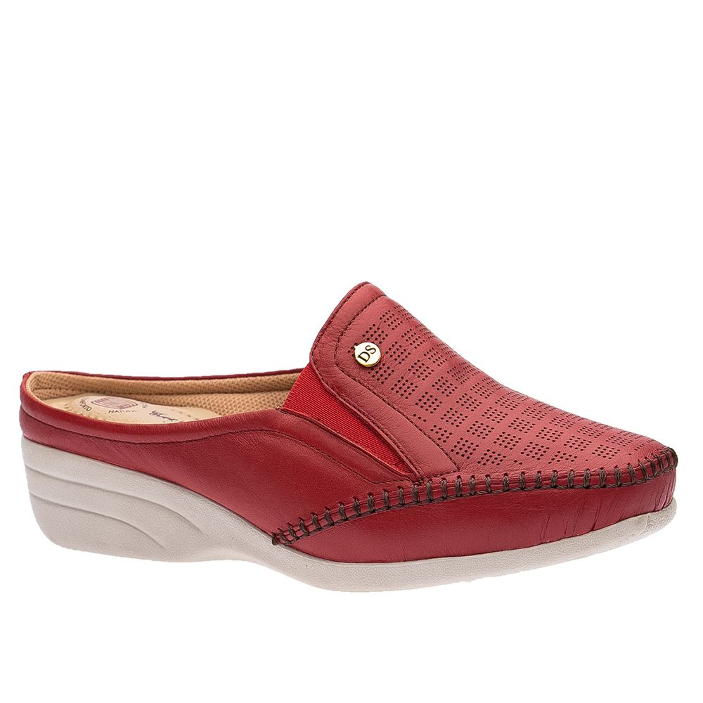 Mule-Feminino-em-Couro-Roma-Vermelho-3137-Doctor-Shoes-Vermelho-34
