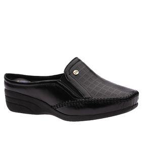 Mule-Feminino-em-Couro-Roma-Preto-3137-Doctor-Shoes-Preto-35