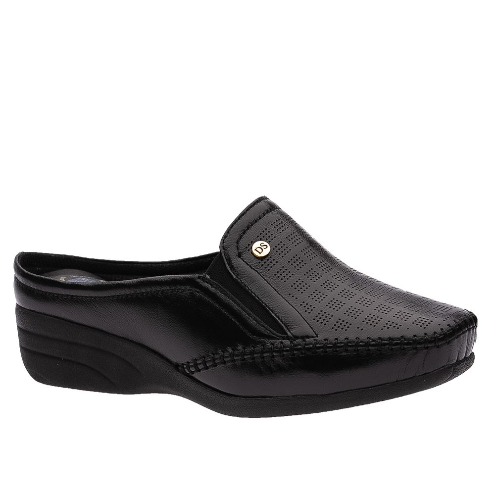 Mule-Feminino-em-Couro-Roma-Preto-3137-Doctor-Shoes-Preto-36