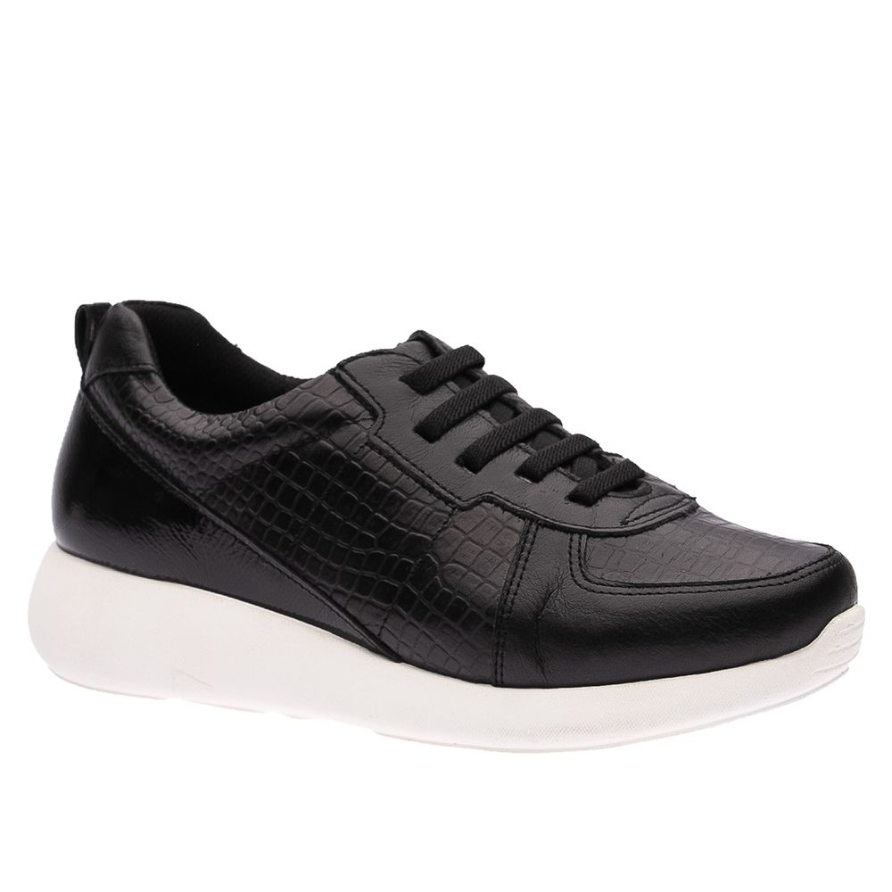 Tenis-Feminino-em-Couro-Roma-Preto-Croco-Preto-Verniz-Preto--Elastico--1403--Doctor-Shoes-Preto-34