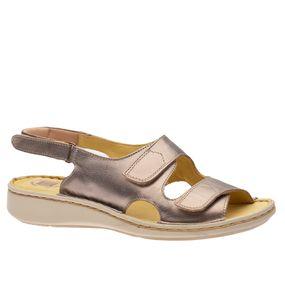Sandalia-Feminina-em-Couro-Metalic-295B--Doctor-Shoes-Bronze-36