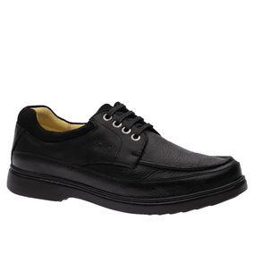 Sapato-Masculino-em-Couro-Floater-Preto--Graxo-Preto-Nobuck-Preto-417-Doctor-Shoes-Preto-37