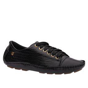 Sapato-Feminino-Driver-em-Couro-Roma-Preto-Croco-Preto-1440-Doctor-Shoes-Preto-34