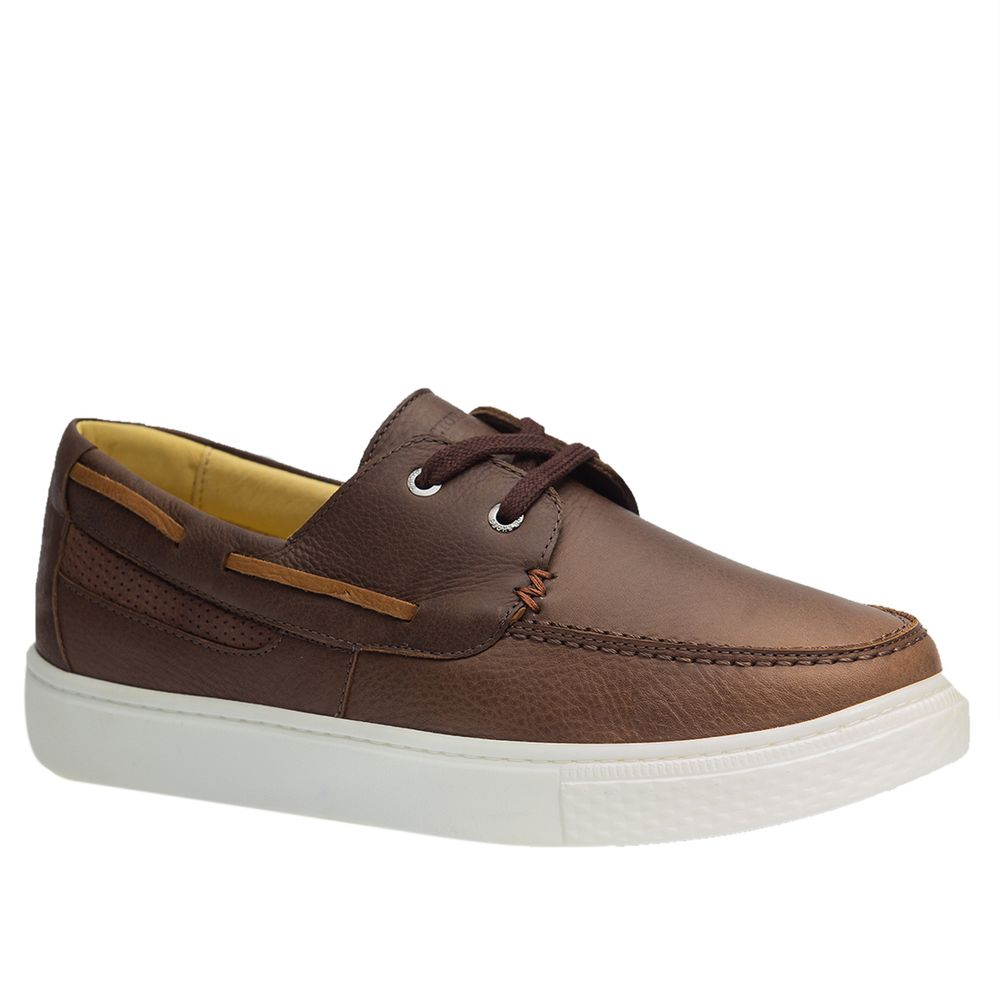Tenis-Masculino-em-Couro-Graxo-Cafe-2195-Doctor-Shoes-Marrom-37