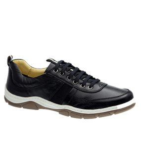 Sapatenis-Casual-em-Couro-Floater-Preto-Nobuck-Preto-1920-Doctor-Shoes-Preto-37