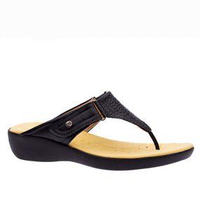 Tamanco-Anatomico-Feminino-em-Couro-Croco-Preto-Roma-Preto-111--Doctor-Shoes-Preto-38