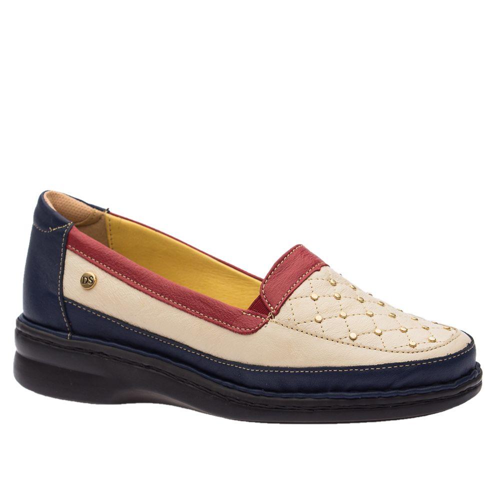 Sapato-Feminino-Especial-Neuroma-de-Morton-em-Couro-Petroleo-Neve-Framboesa-376-Doctor-Shoes-Azul-Marinho-34