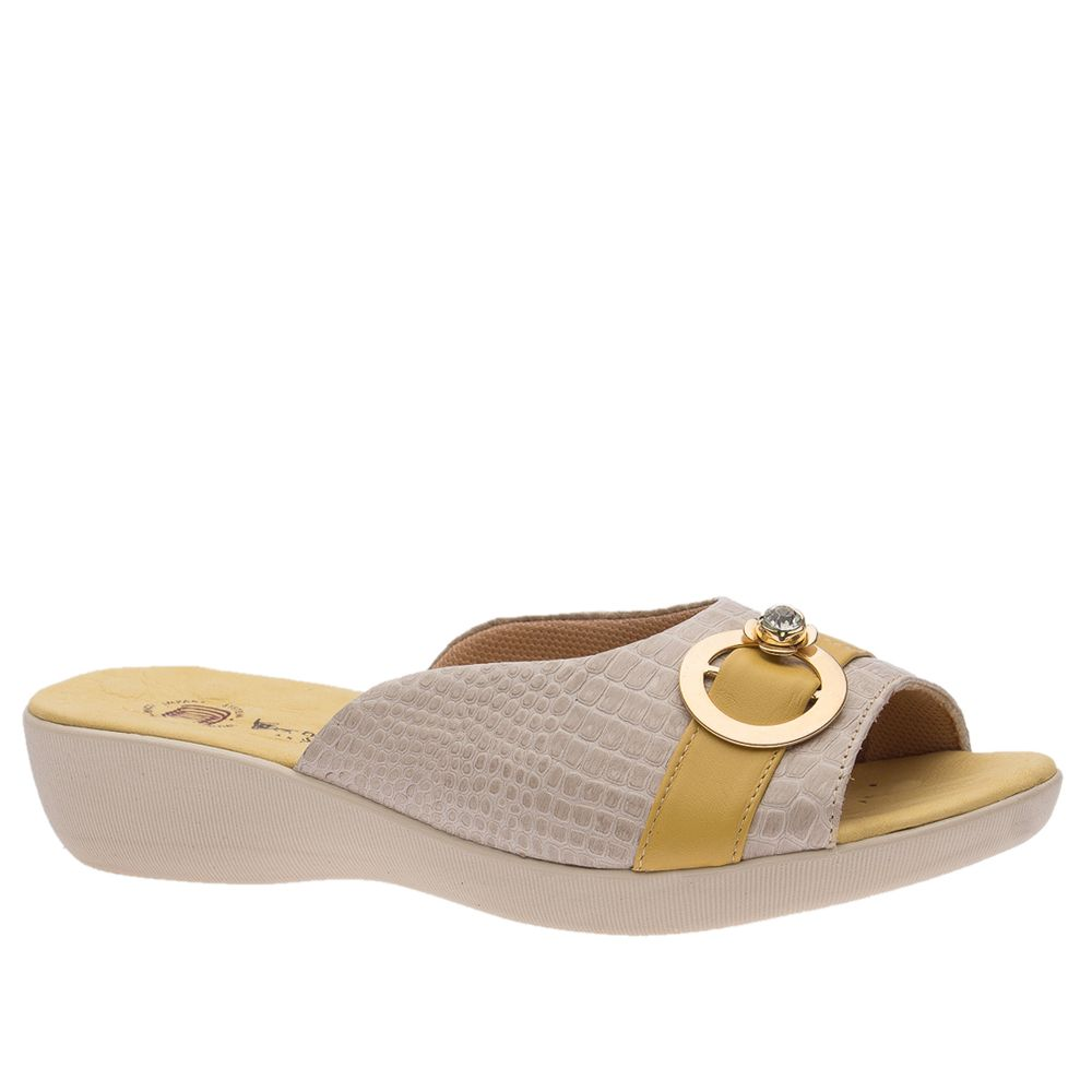 Tamanco-Anatomico-Feminino-em-Couro-Croco-Off-White-Roma-Amarelo-114--Doctor-Shoes-Bege-34