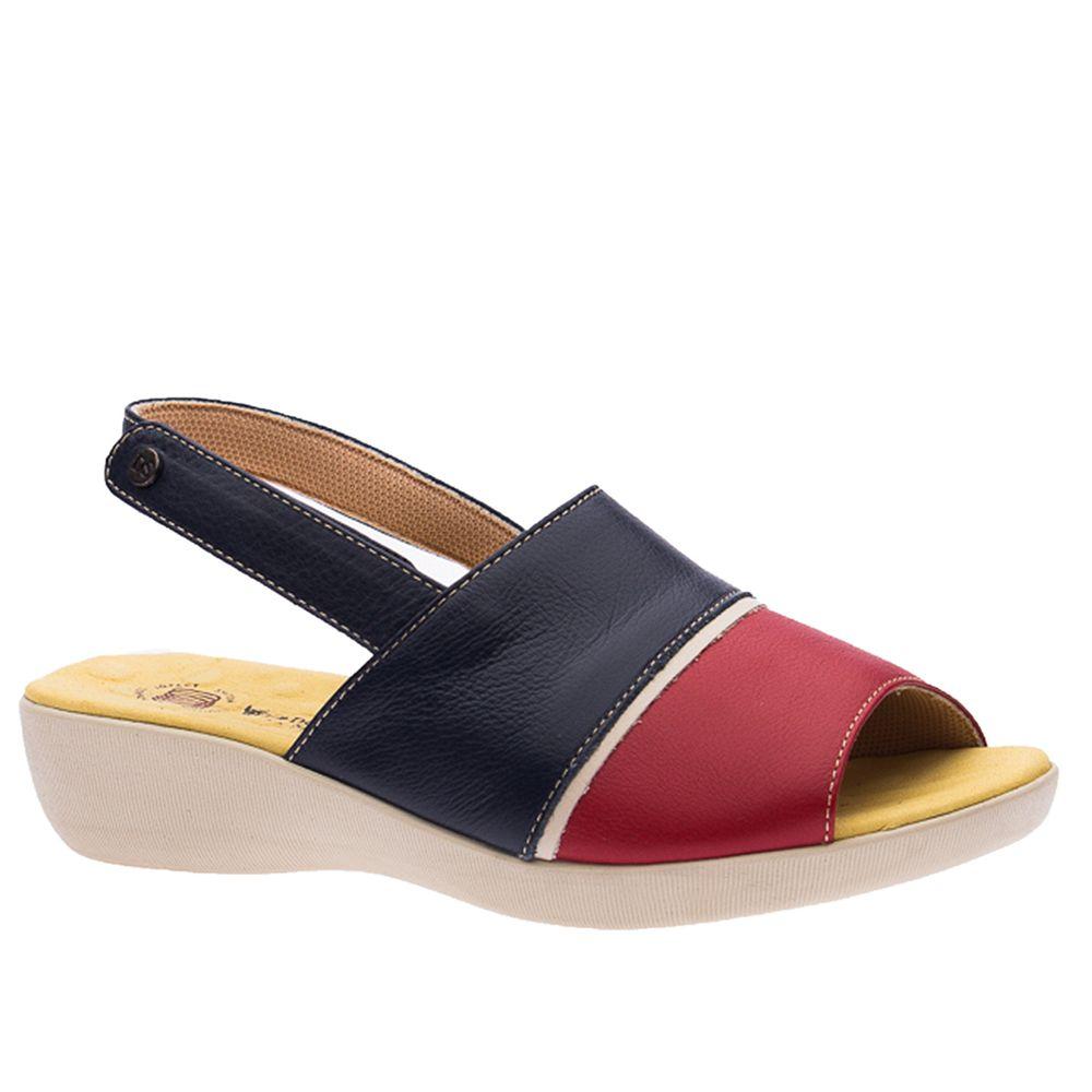 Sandalia-Feminina-em-Couro-Roma-Vermelho-Off-White-Marinho-113--Doctor-Shoes-Azul-Marinho-35