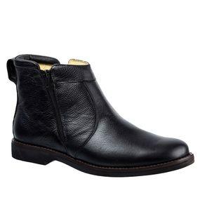 Botina-Masculina-Gel-Anatomica-em-Couro-Floater-Preto-8612-Doctor-Shoes-Preto-38