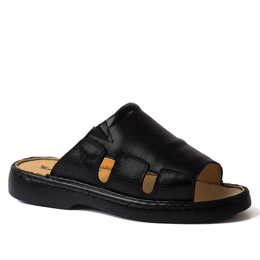 Chinelo-Masculino-322-em-Couro-Floater-Preto-Doctor-Shoes-Preto-37