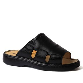 Chinelo-Masculino-322-em-Couro-Floater-Preto-Doctor-Shoes-Preto-37