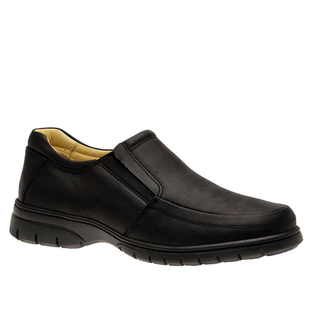 Sapato-Masculino-em-Couro-Graxo-Preto-1798-Doctor-Shoes-Preto-38
