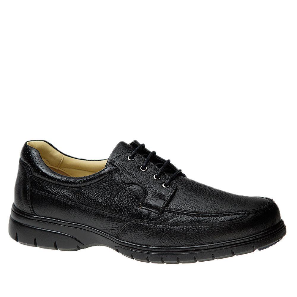 Sapato-Masculino-em-Couro-Floater-Preto-1801-Doctor-Shoes-Preto-37
