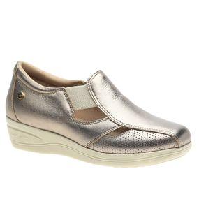 Sapato-Feminino-Diabetico-em-Couro-Metalic-7800-Doctor-Shoes-Bronze-35