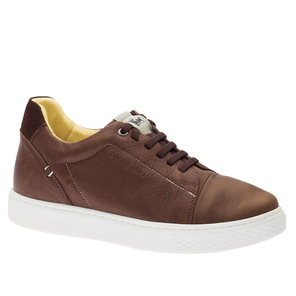 Tenis-Masculino--Linha-UP--em-Couro-Graxo-Telha-Floater-Off-White-2229--Doctor-Shoes-Cafe-37